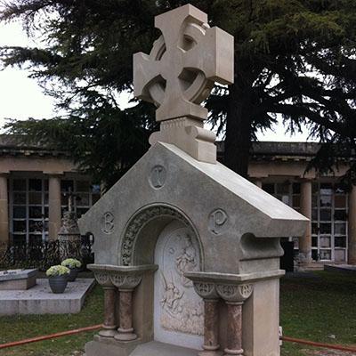 Art funerari amb pedra natural